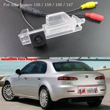 Камера заднего вида Для ДЛЯ Alfa Romeo 159/Автомобильная Камера Заднего вида/HD CCD Цвета NTST или PAL/Для RCA с Парковкой линии