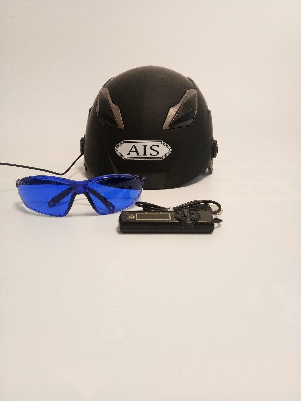 baldness hair grows system 650nm laser cap helmet for sale