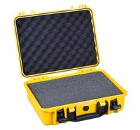 hot style hard plastic watertight shockproof decent suitcases with pick pluck foam