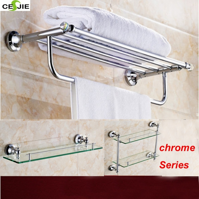 Newly Arrival Stainless Steel Material Chrome Polish Bathroom Shower Accessories  Wall Mounted Shower Bathroom Accessories Sets