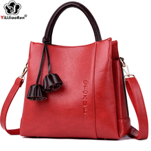 купить Fashion Tassel Ladies Hand Bag Luxury Handbags Women Bags Designer Brand Leather Messenger Crossbody Bags for Women Sac A Main дешево