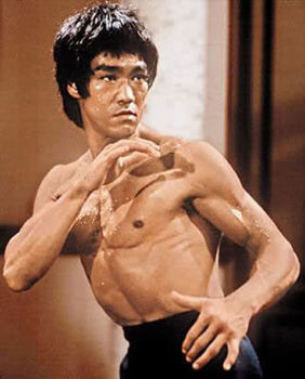 """HIGH QUALITY PORTRAIT OIL PAINTING ON CANVAS   BRUCE LEE"""" 24""""X36"""""""