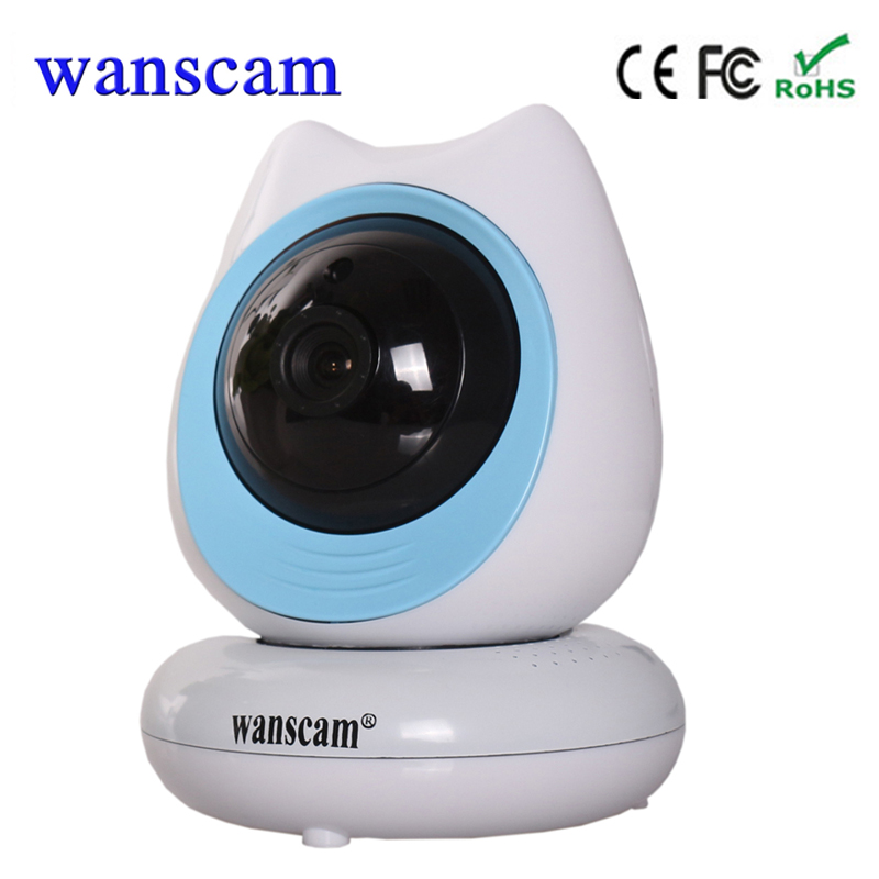 2017 720P Wanscam HW0048 P2P Wifi Mini IP Camera wifi Wireless support 128G TF card  Home Easy to Install Free Shipping wanscam hw0021 p2p home wifi surveillance camera wireless pan tilt support tf card recording up to 128g