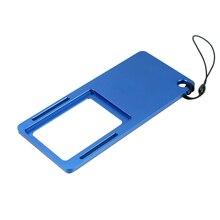 BGNing aluminium poche cardan adaptateur interrupteur plaque de montage pour GoPro Hero 7 6 5 4 3 3 + Yi 4k EKEN caméra daction