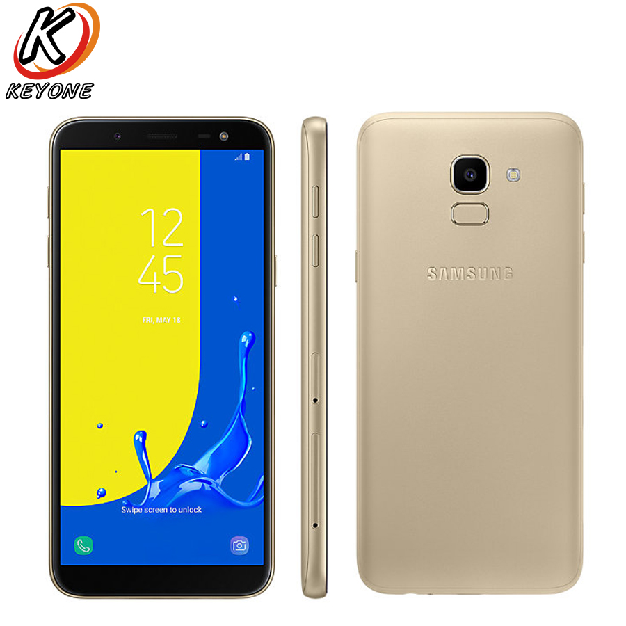 Nuovo Originale Samsung Galaxy J6 J600F-DS LTE Mobile Phone 5.6