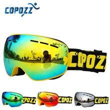 Лыжные очки для детей дети двойной uv400 анти-туман маска очки катание на лыжах сноуборд мальчики девочки Туризм Спорт очки gafas-де-esqui и