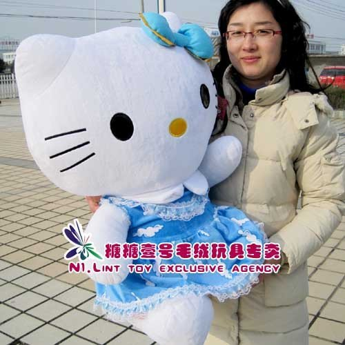 New style 75cm Hello kitty doll birthday gift Christmas fashion present 2 colors pandas,panda.
