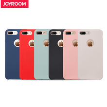 Joyroom Liquid Silicone Case For iPhone 7 Plus Skin friendly Soft Phone Back Cover for iphone 7 Case