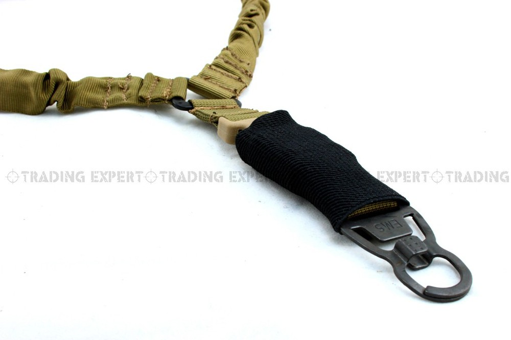 tactical gun sling EMERSON tactical gun sling LQE One Point Sling with MASH hook (Coyote Brown) em8489e