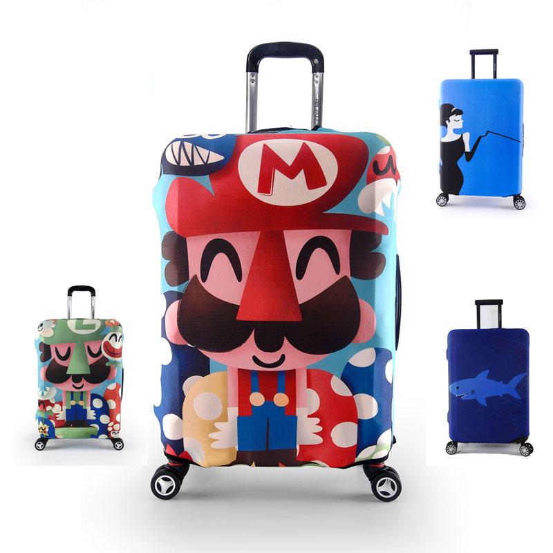 Mytrip Cartoon Elastic Luggage Protective Covers Cover For 18 32 Inch Suitcase Elastic Luggage Cover Travel