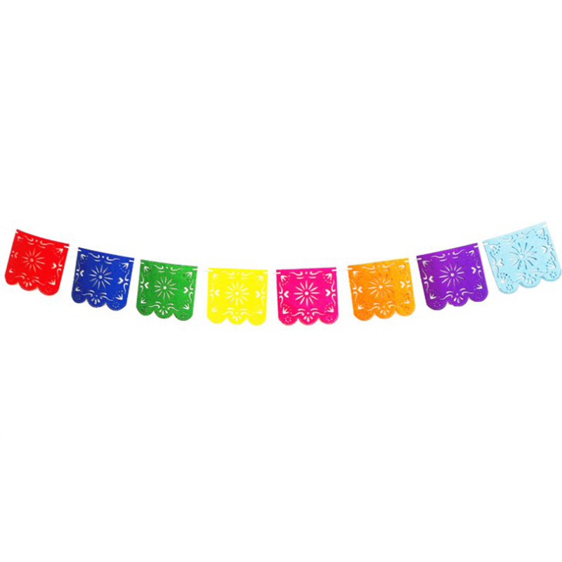1 Set Hot sale Mexican Banner Garland Wedding Flag Banner ...