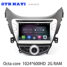 2G Ram android 6 0 Octa core Car dvd gps for Hyundai Elantra Avante I35 2011