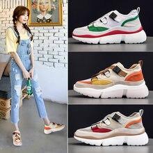 22978bdcb Sapatos das mulheres de couro 2019 novos sapatos casuais versão Coreana de  Harajuku selvagem sapatos casuais estilo de Hong Kong.