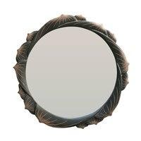 Bathroom mirror round wall hanging bedroom dressing vanity wall stickers makeup creative art decoration wx7181634