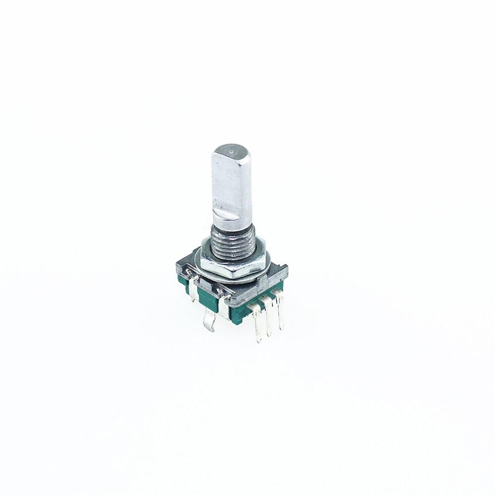 Original Rotary Encoder Code Switch EC11 Audio Digital Potentiometer with Switching 5Pin Handle Length 20mm sound volume potentiometer encoder encoder shaft length 25mm