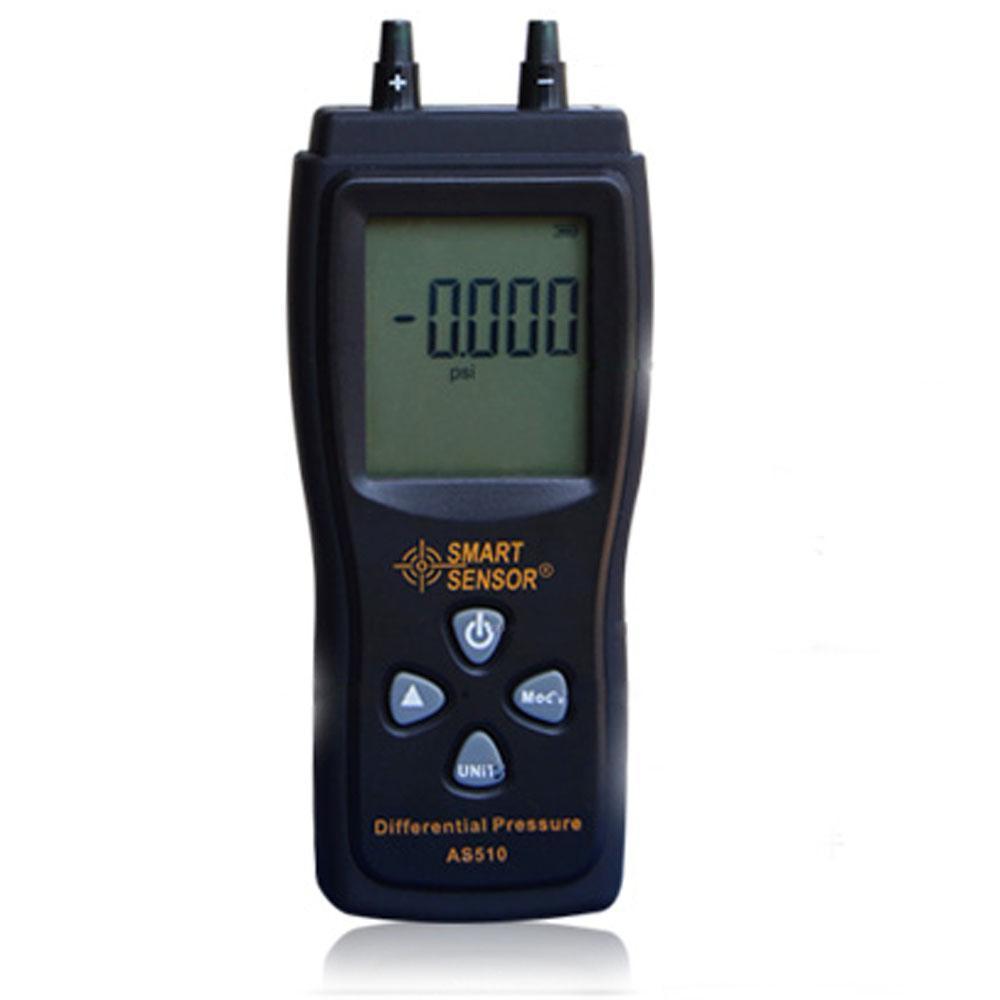 Compteur de pression différentielle capteur intelligent manomètre 0 ~ 100hPa compteur de pression à vide négative