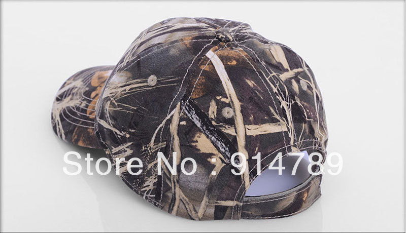 85578f1828a JUNGLE MAN TACTICAL PAINTBALL OUTDOOR BIONIC REAL TREE CAMOUFLAGE BASEBALL  CAP 33680-in Baseball Caps from Men s Clothing   Accessories