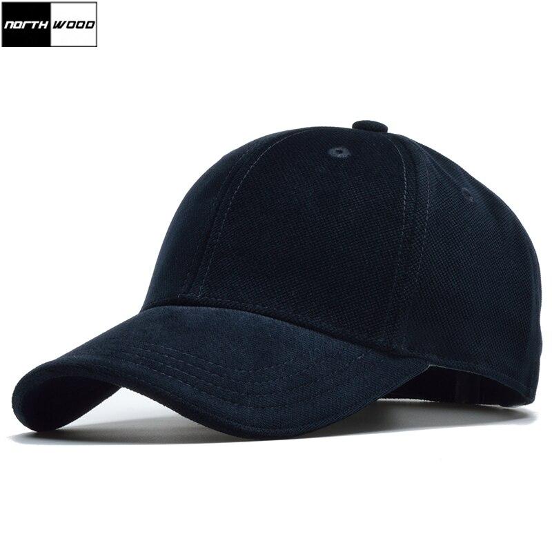 [NORTHWOOD] High Quality 100% Cotton Winter Cap Soild Branded Baseball Cap Men Unisex Snapback Hats Bone Masculino Trucker Cap