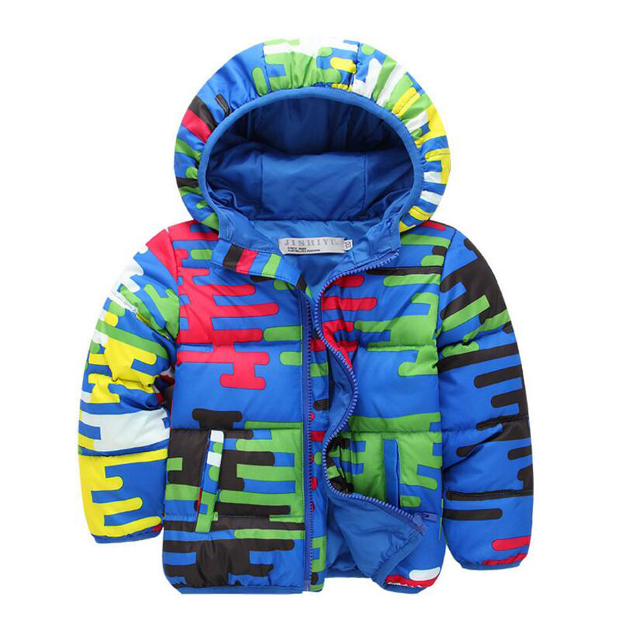 Baby Boy Girl Winter Coat Camouflage Printing Winter Jacket Warm Down Jacket Thickened Hooded Clothes Children's Clothes russia winter boys girls down jacket boy girl warm thick duck down