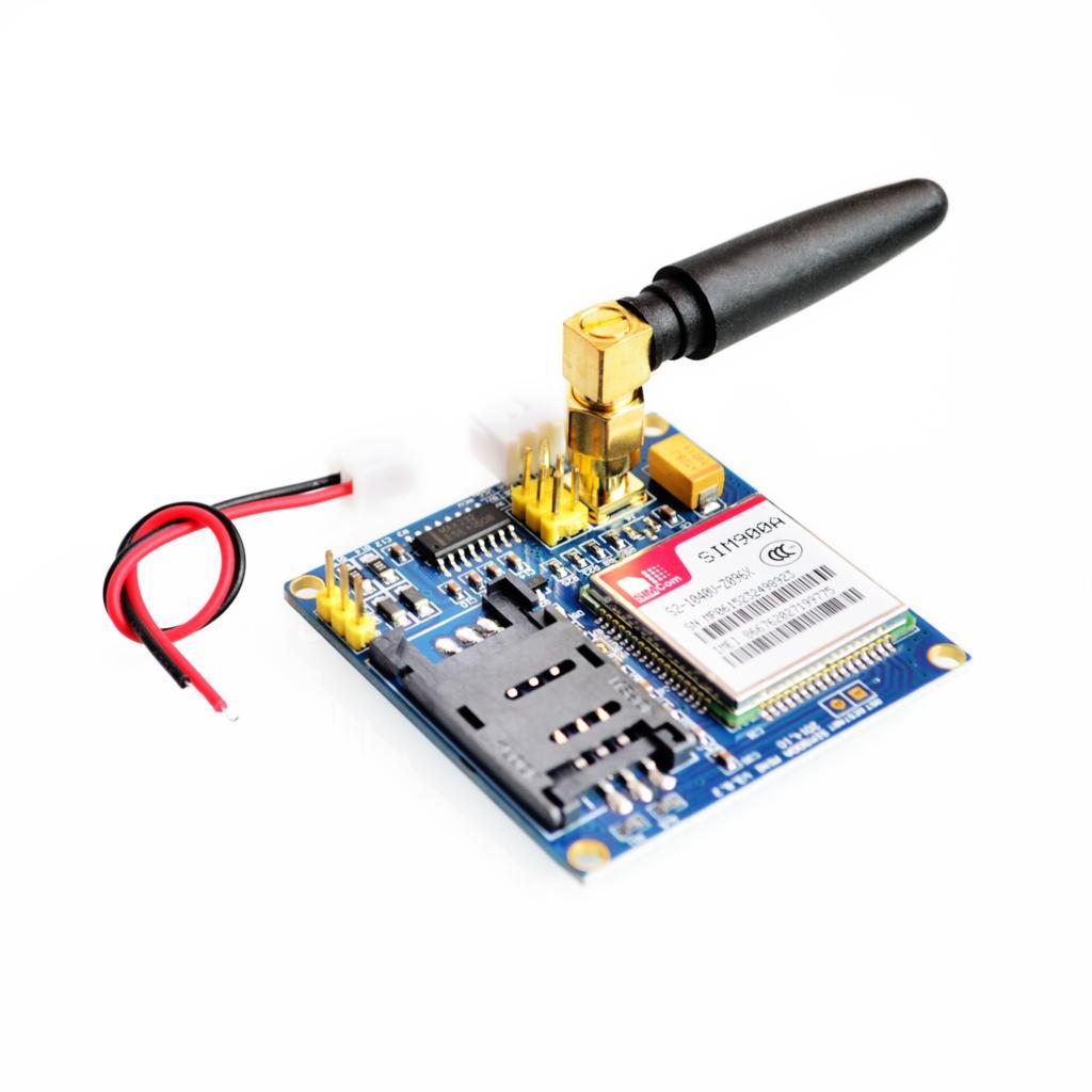 Novo kit sim900a módulo de extensão sem fio gsm gprs placa antena testado em todo o mundo loja