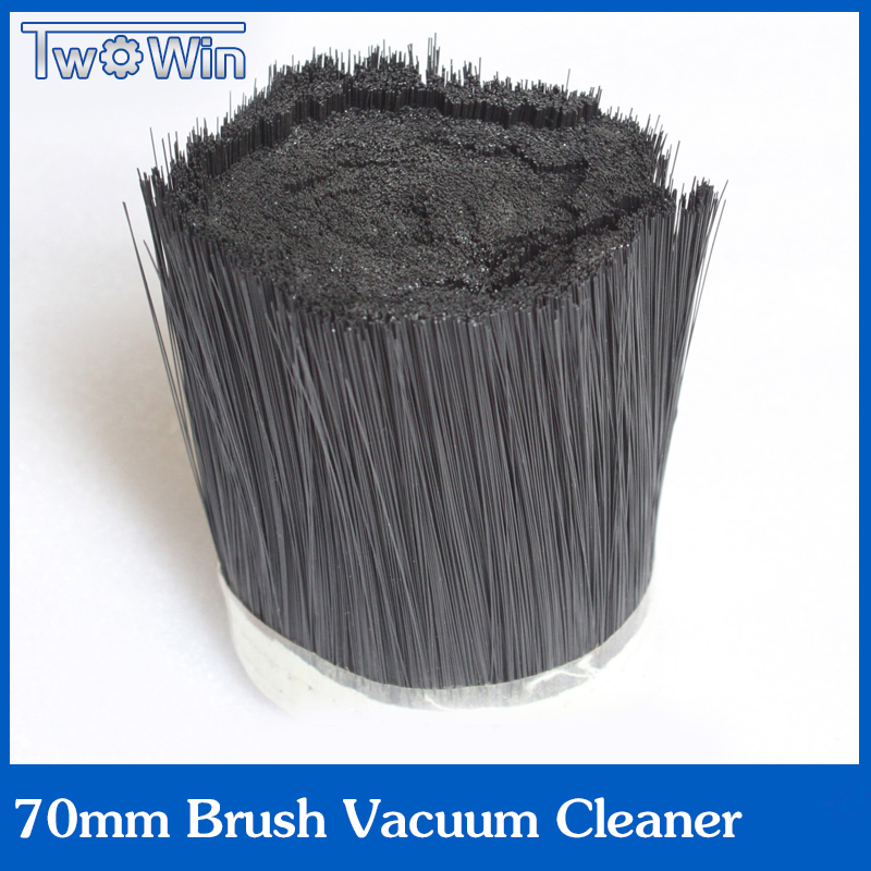 1m 70mm Brush Vacuum Cleaner Engraving Machine Dust Cover For CNC Router For Spindle Motor