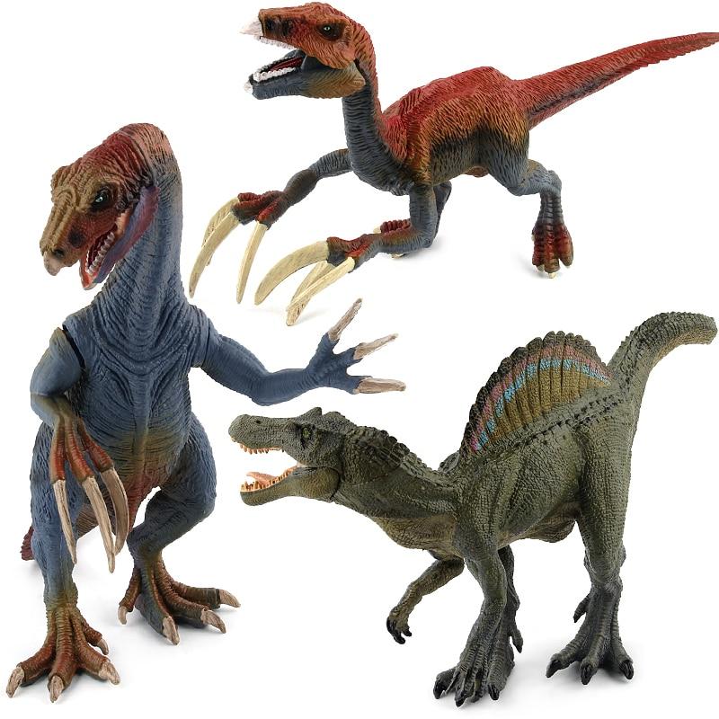 Jurassic Therizinosaurus Dinosaur toy Spinosaurus Action Figure Animal Model Collection Learn Educational Kids Funny Gift #E voyager scorn spinosaurus dinosaurs action figure classic toys for boys children gift