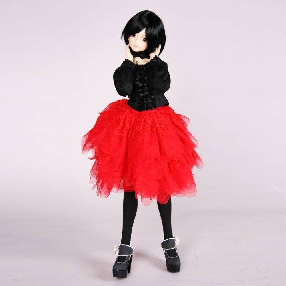 [Wamami] 257 #7 pc rouge et noir robe/collier/accessoires 1/3 SD DOD BJD Dollfie