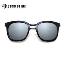 2017 Spring Square Sunglasses Men New Designer Polarized Coating Mirror Sun Glasses gafas oculos de sol masculino 1701