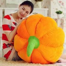 Большая Милая овощная Тыква плюшевая игрушка большая подушка кукла подарок около 60 см 0267