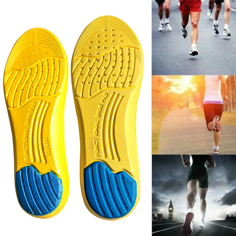 Stretch Breathable Deodorant Shoe Running Cushion Insoles Pad For Men Women GH