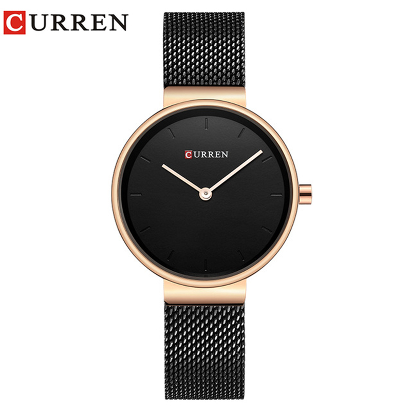 CURREN 9016 Women Watch New Quartz Top Brand Luxury Fashion Casual Wristwatches Ladies Gift Relogio Feminino For Girl For Wife