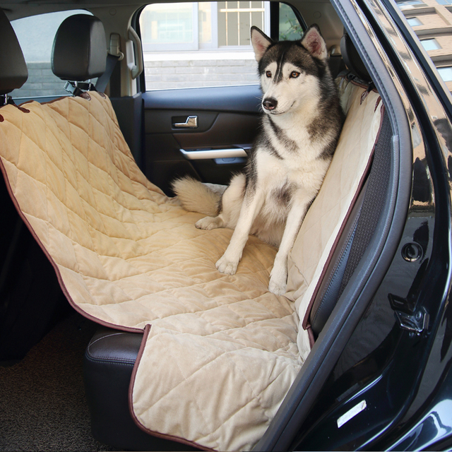 Quality Waterproof Car Seat Cover for Pet Dog Car Rear Seat Cover ...