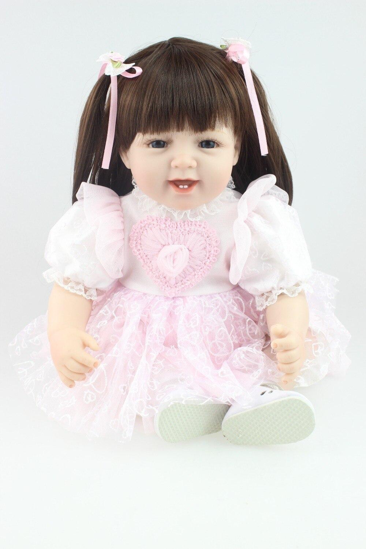 baby doll reborn lifelike play doll for pupular Christmas Gift кукла 44271926101 usa berenguer reborn baby doll