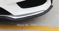 2.5M/8.2ft Universal Car Sticker Lip Skirt Protector for Mitsubishi outlander lancer pajero sport asx accessories car styling