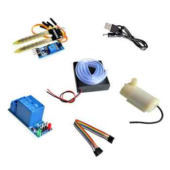 Automatic irrigation module DIY kit soil moisture detection automatic water pumping