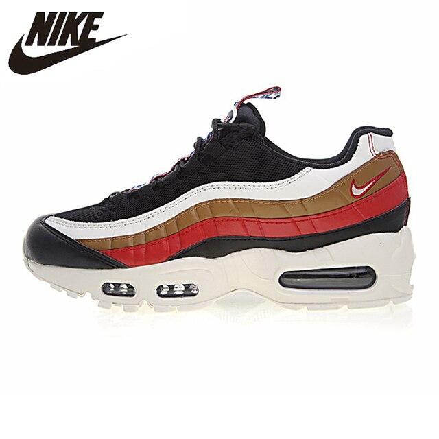 Nike Air Max 95 TT dos homens e Tênis de Corrida das Mulheres, Preto, resistente Ao Desgaste de Absorção de choque Não-deslizamento AJ4077-002