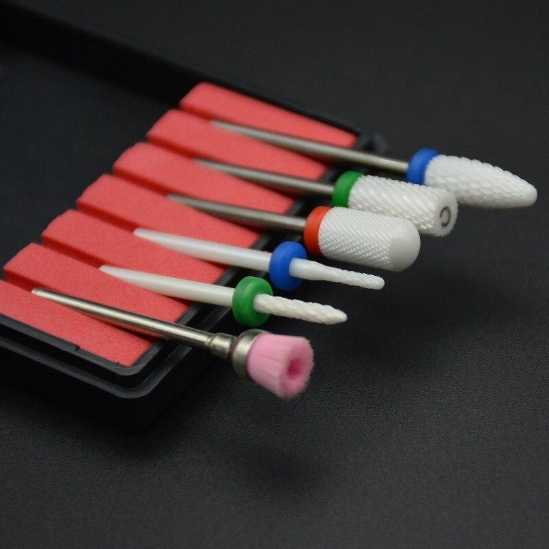 prego brocas bico elétrica broca arquivo manicure máquina gel polonês verniz