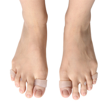 1 PCS SEBS Silicone Toe Orthosis Daily Use Foot Straighter Hallux Valgus and Overlap Repair Care Tools 4 Colors Available