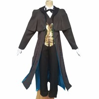 2018 Fate grand order Ruler Sherlock Holmes cosplay costume pant cloak vest outfit for Halloween Carnival Anime Expro party clot