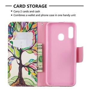 Image 5 - Funda de cuero tipo cartera con ranuras para tarjetas para Samsung Galaxy Note 10 Plus S10 S9 A70 A50 A40 A30 A20 A10 M10 M20 soporte magnético
