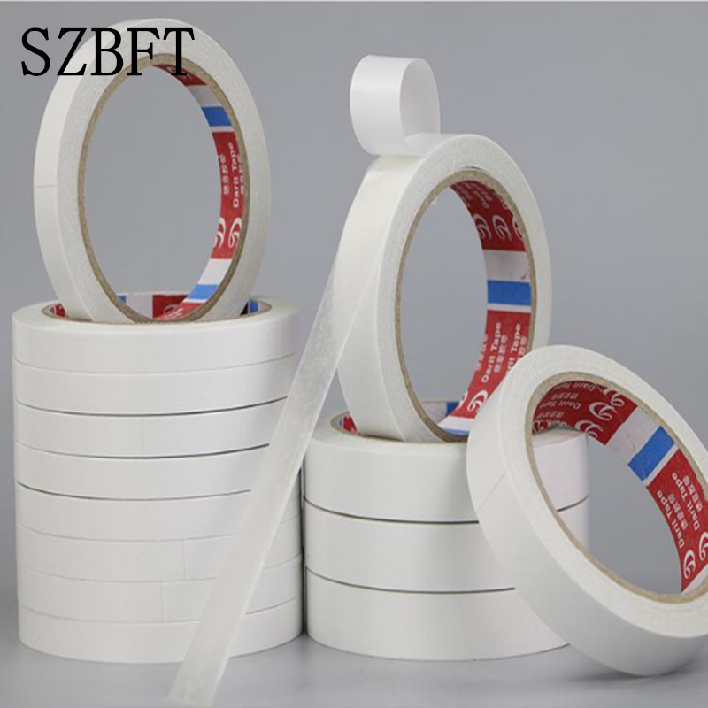 SZBFT Strong Double-sided Tape Wholesale Ultra-thin High-viscosity White Double-sided Adhesive Tape