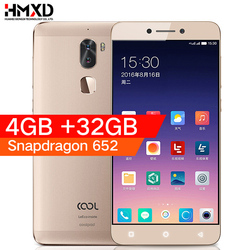 Original Leeco Letv cool 1 4G RAM 32G ROM Coolpad Cool1 4G LTE Mobile Phone Snapdragon 652 5.5