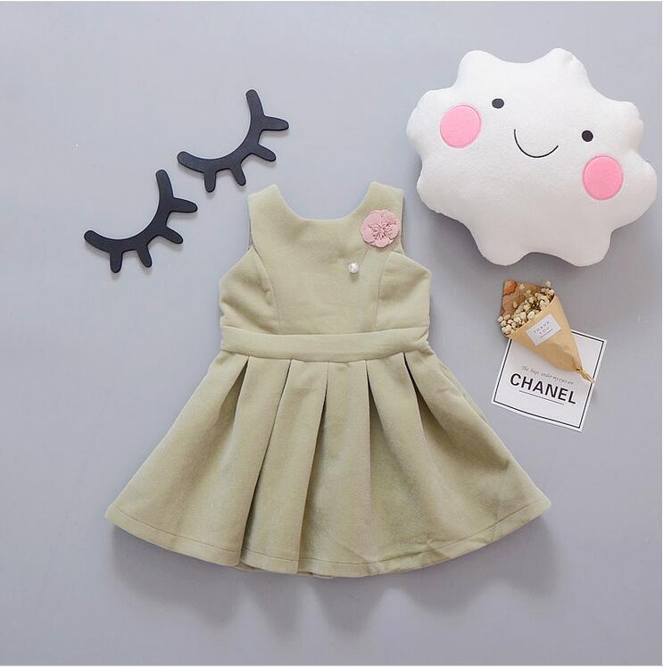Spring new fashion 2-6 year old girl plus velvet dress + free gift global нож для мяса global 21 см