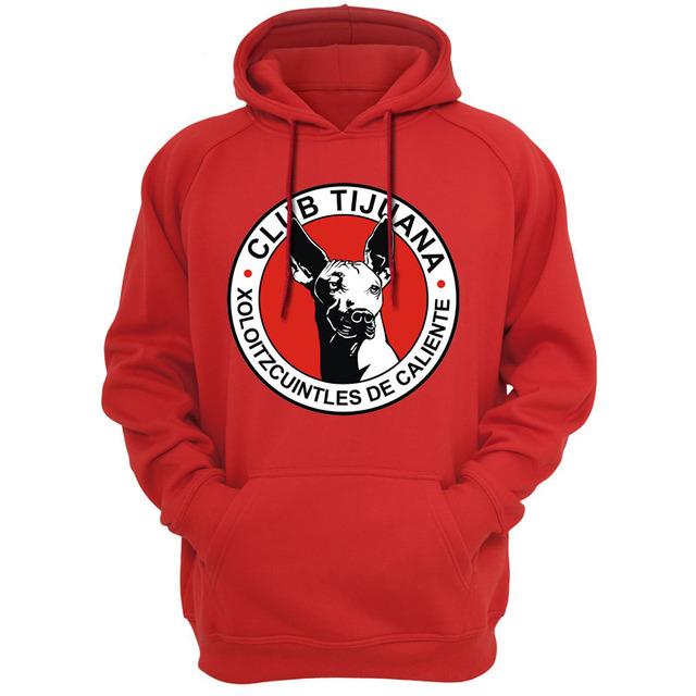 Club Tijuana XOLOS Mexico LIGA MX Hoodies Sweatshirts Casual Apparel Hooded Hoody Fashion Casual Apparel Outerwear clothing 519