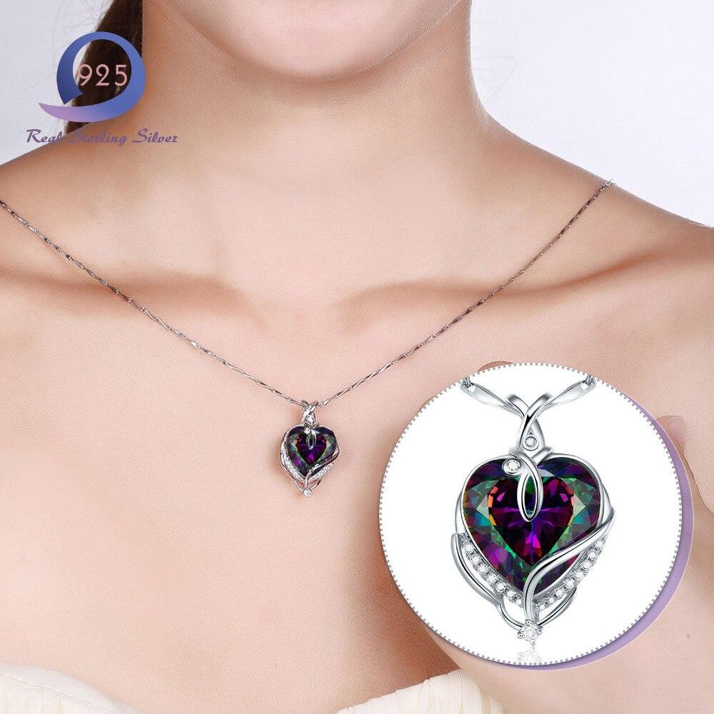 Merthus Trendy 925 Sterling Silber Chian Halskette Mystic - Edlen Schmuck - Foto 4