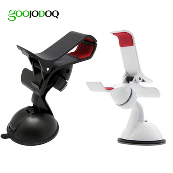 360 Degree Rotation Suction Cup Universal Car Holder Mount Car Windshield Mobile Phone Stand for iPhone 5 6 7 8 X Samsung Huawei