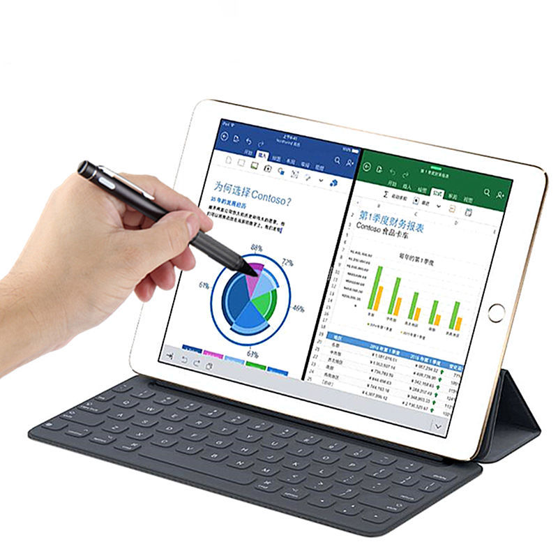 Active Stylus Pen Touch Screen High precision tip For iPad 9.7 inch New 2017 Air 2 1 ipad Air2 5 6 Tablet Capacitive Pencil Case