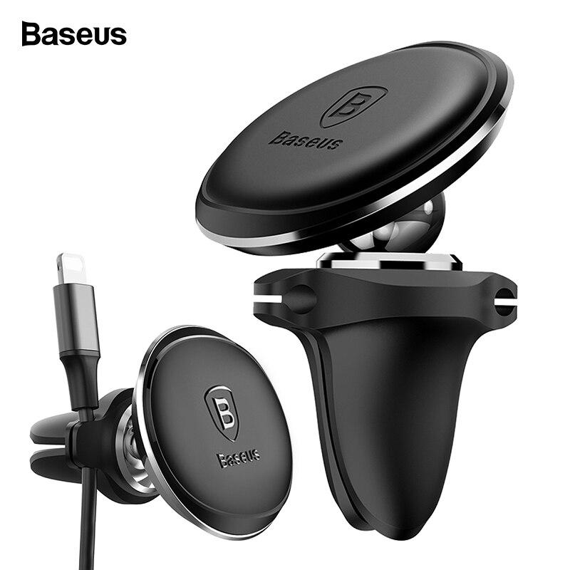 Baseus Kabel Organizer Magnetische Auto Telefon Halter Für iPhone Xs Max X Samsung Auto Magnet Air Vent Halterung Handy halter Stehen