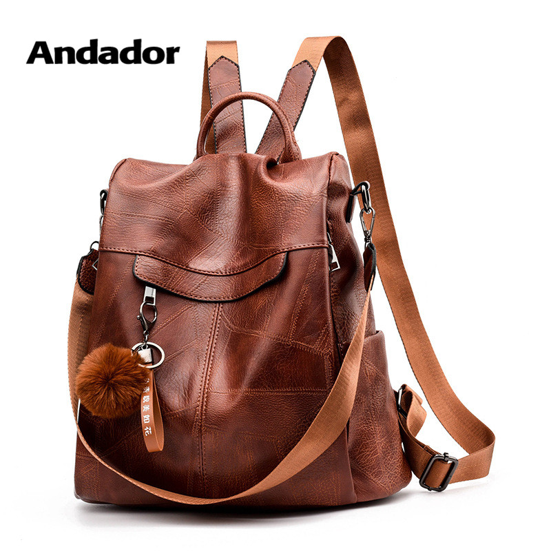 Girls Bag Backpacks Large-Capacity School-Bags Teenager Female Vintage Women's New-Fashion