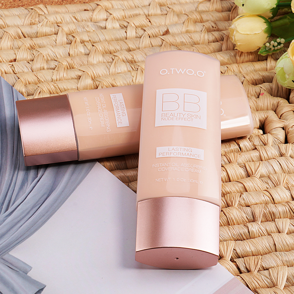 O TWO O BB Cream Concealar Makeup Foundation BB CC Cream Face Beauty Makeup Concealer Oil Control Moisturizing in BB CC Creams from Beauty Health